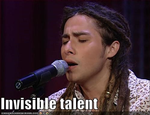 Invisible talent
