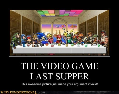 THE VIDEO GAME      LAST SUPPER