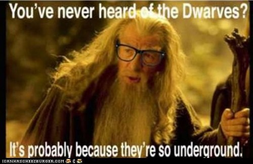 First hipster of middle Earth