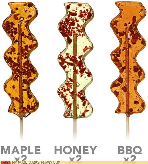 bacon,bbq,best of the week,candy,honey,lollipop,maple,sweet