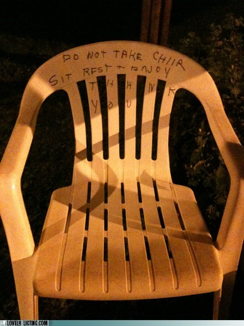 Chairturday: Community Chiir