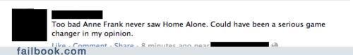 anne frank,Home Alone,nazis