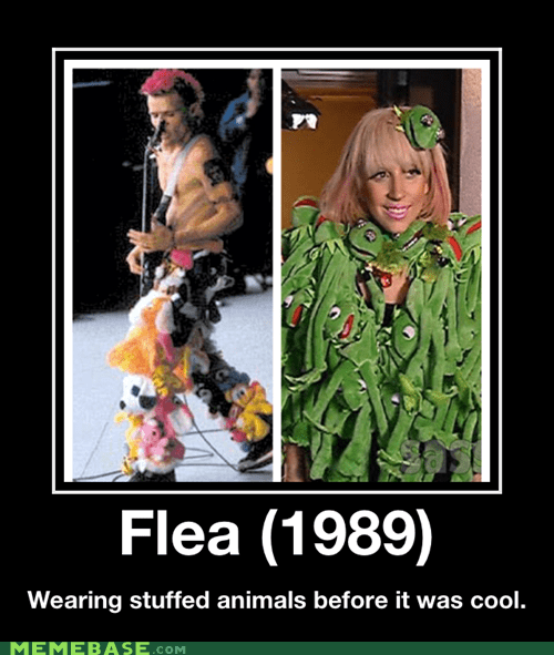 flea,hilarious,hipsters,lady gaga,stuffed animals