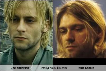Joe Anderson Totally Looks Like Kurt Cobain