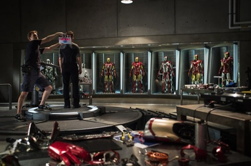 Iron Man 3 Set Pic of the Day