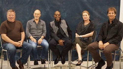 captains,Star Trek,William Shatner,wizard world