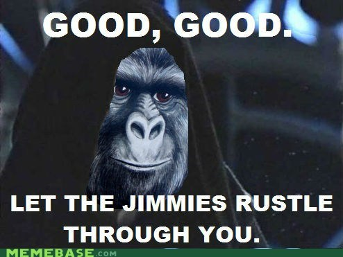 I Sense a Rustling in the Jimmies