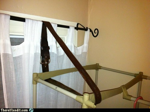 What Do You Do When Your Hanging Rack Breaks?