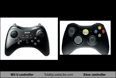 Wii U Controller Totally Looks Like Xbox Controller