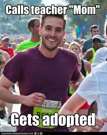 adoption,Awkward,Memes,mom,photogenic guy