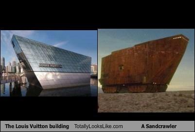 building,funny,Louis Vuitton,Movie,sandcrawler,star wars,TLL