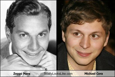 Zeppo Marx Totally Looks Like Michael Cera
