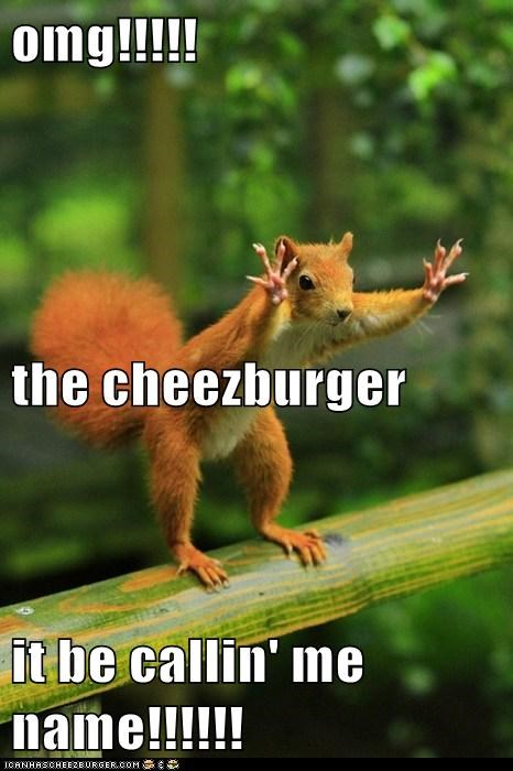 omg!!!!! the cheezburger it be callin' me name!!!!!!