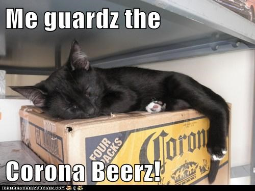 Me guardz the  Corona Beerz!