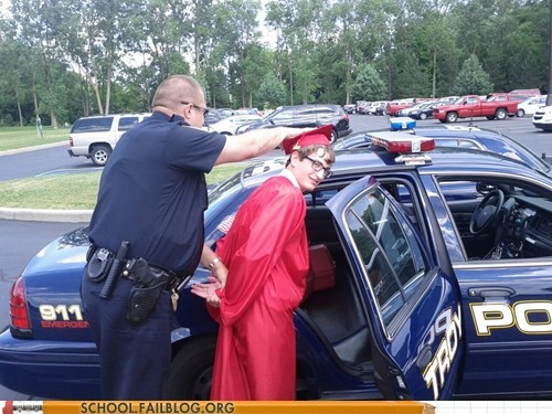 I Guess Graduating is Against the Law Now