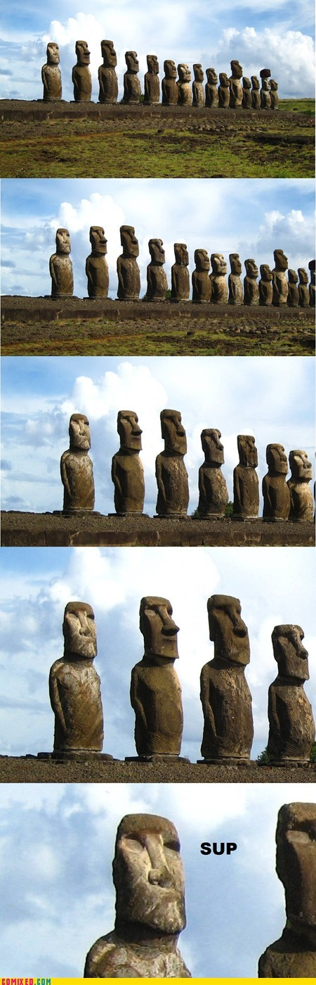 The Coolest Moai