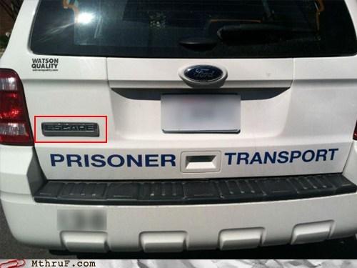 escape,explorer,ford,ford escape,ford explorer,prisoner transport