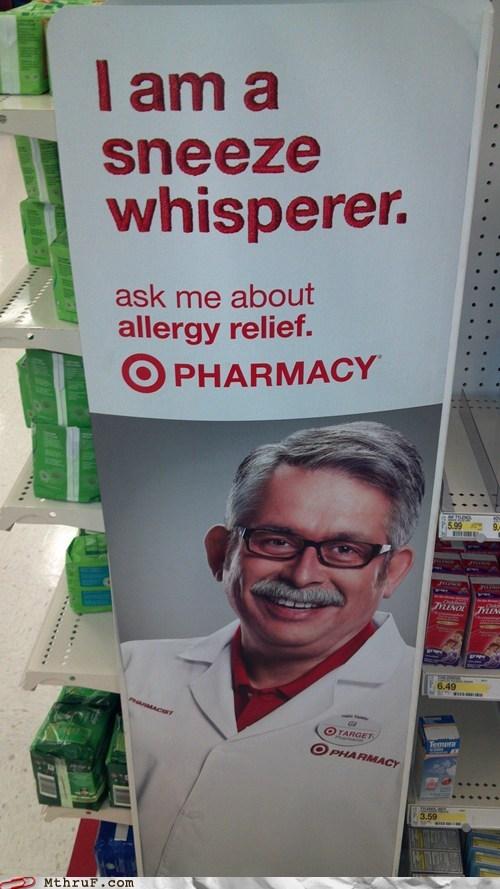 allergy,allergy relief,pharmacist,pharmacy,sneeze whisperer,Target,target pharmacy