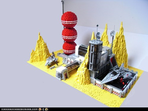 Retro-futuristic Moonbase by Christoph Monnaie