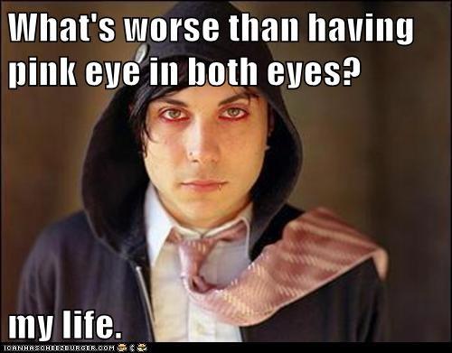 emo,emolulz,fml,pink eye