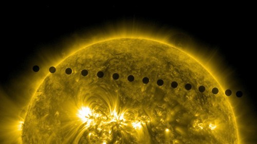 Transit of Venus Photos of the Day