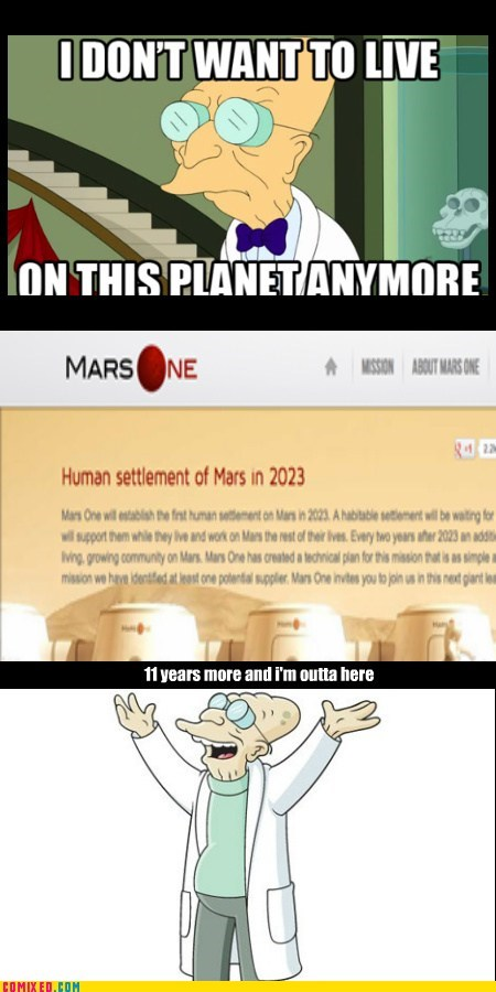 screw you guys i'm going to mars