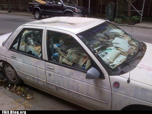 car,fail nation,g rated,hoarder,messy