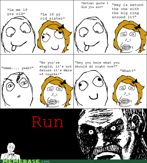 Rage Comics: You're About to Get a Ring Around the Eye