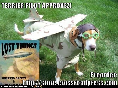 TERRIER PILOT APPROVEZ!  Preorder: http://store.crossroadpress.com