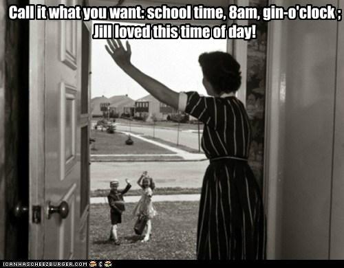 door,drink,goodbye,kids,mom,Photo