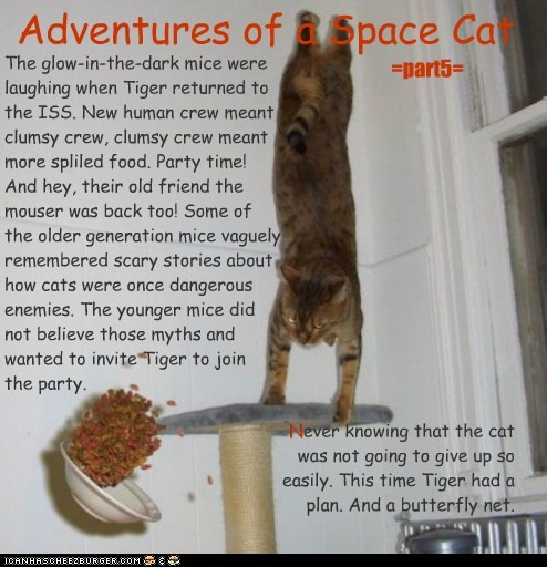 Adventures of a Space Cat =part 5=