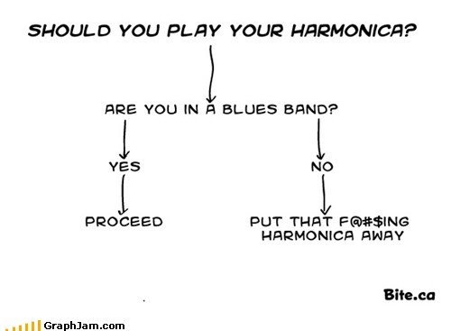 Should You Play Your Harmonica?