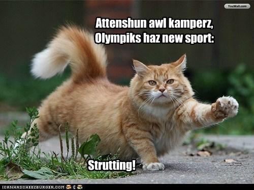 Kampers get nu Olympics sport