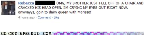 brothers,facebook,lmao,weird kid