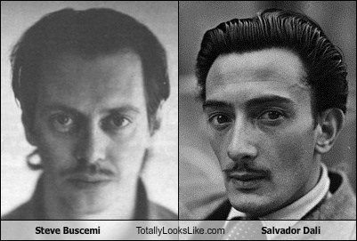 Steve Buscemi Totally Looks Like Salvador Dali
