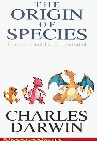 book,charles darwin,evolution,origin of species,Pokébooks