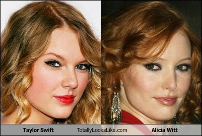 Taylor Swift Totally Looks Like Alicia Witt