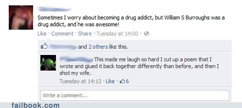 drugs,failbook,william s burroughs,writers,writing