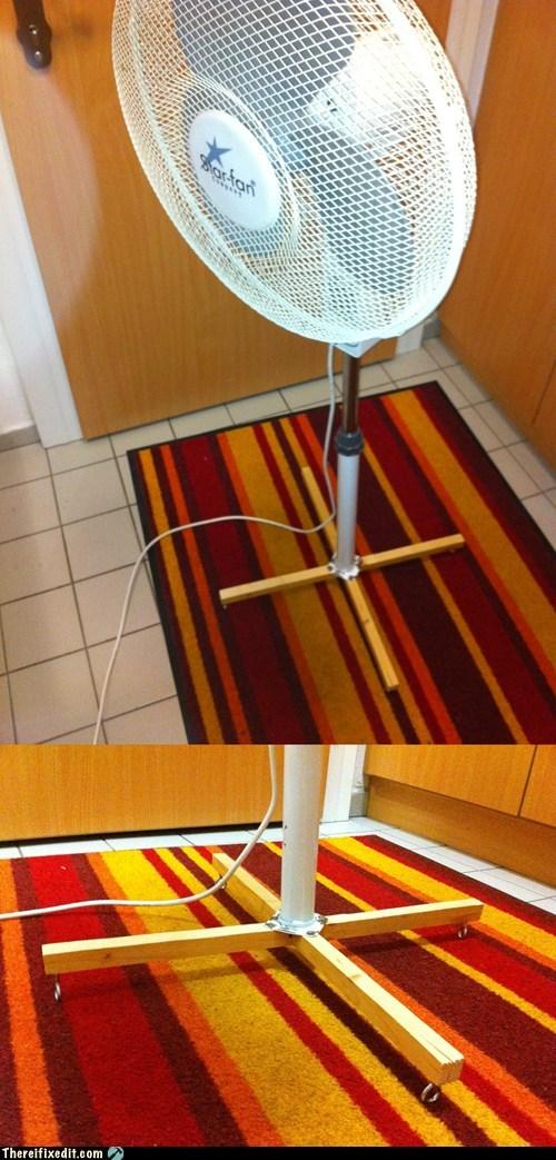 base,fan,fan stand,metal,mettle,prop,stand,wood
