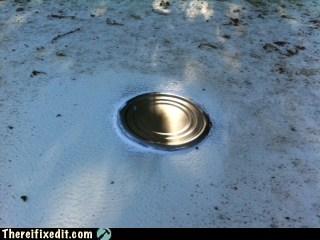Tin Can Roof Repair