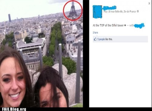 Eiffel Tower FAIL