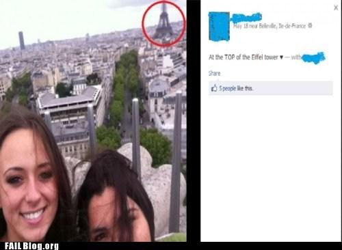 Eiffel Tower FAIL