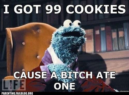 Cookie Monster,Jay Z,life,Sesame Street