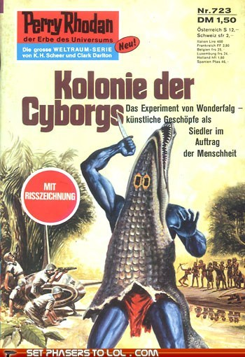alligator,book covers,books,cover art,cyborg,science fiction,suit,wtf