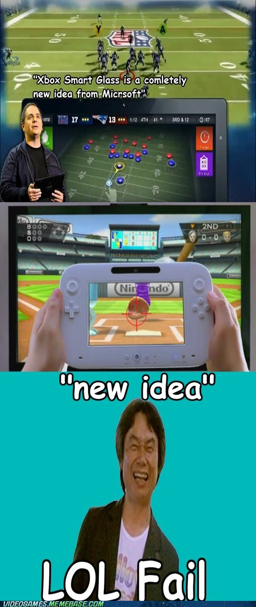 Mr.Miyamoto laughs at your new ideas