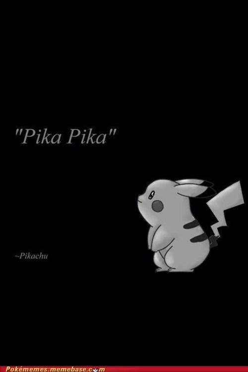 amazing,pika pika,pikachu,Pokémans,quote