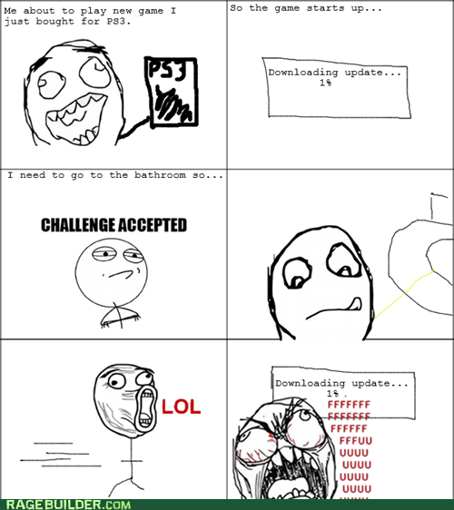 Rage Comics: I Guess It's Snack Time