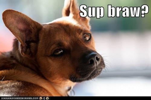Sup braw?