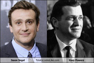 Jason Segel Totally Looks Like Gary Powers