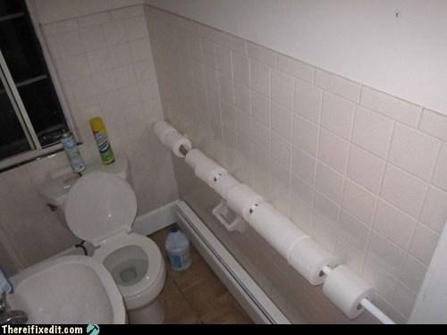 Toilet Paper. Toilet Paper Everywhere.